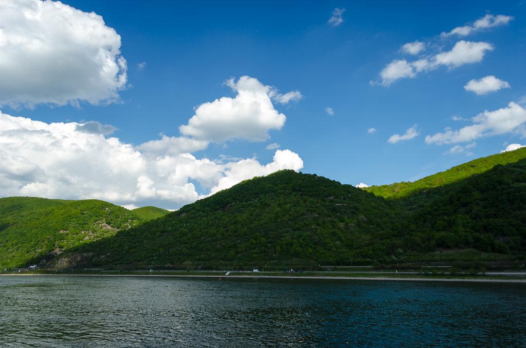 Rhine and hills